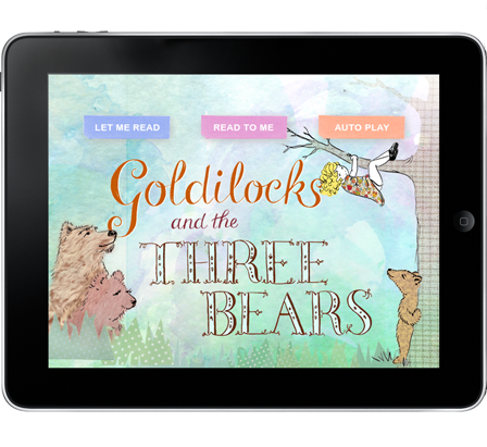 Goldilocks and the Three Bears for iPad and iPhone