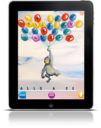 Balloony Word for iPad Screenshot
